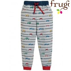 "frugi - Bio Kinder Sweathose ""Snug"" mit Auto-Motiv"