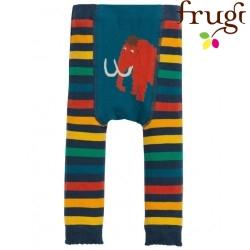 frugi - Baby Leggings mit Streifen und Mammut