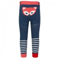 kite kids - Baby Strickleggings mit Fuchs-Motiv