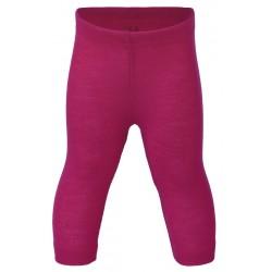 ENGEL - Bio Baby Leggings, Wolle/Seide, himbeere