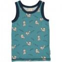 Maxomorra - Bio Kinder Unterhemd mit Arctic Fox-Motiv
