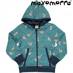 Maxomorra - Bio Kinder Sweatshirt mit Actic Fox-Motiv