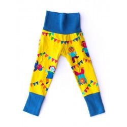 merle kids - Bio Kinder Leggings mit Tanzparty-Motiv