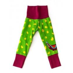 merle kids - Bio Kinder Leggings mit Küken-Motiv