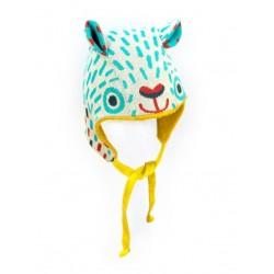 merle kids - Bio Baby Strickmütze Bärmaus