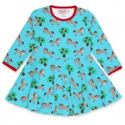 Toby tiger - Bio Kinder Kleid mit Pferde-Motiv
