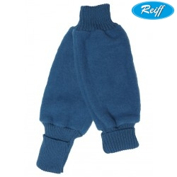 Reiff - Bio Kinder Fleece Beinstulpen Wolle pazifik