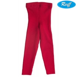 Reiff - Bio Kinder Strick Leggings Wolle burgund