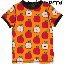 Maxomorra - Bio Kinder T-Shirt mit Apfel-Motiv