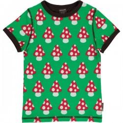 Maxomorra - Bio Kinder T-Shirt mit Pilz-Motiv