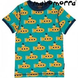Maxomorra - Bio Kinder T-Shirt mit Submarine-Motiv