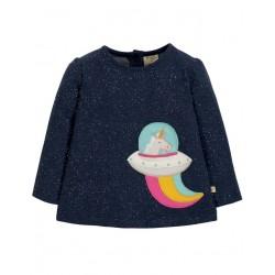 """frugi - Bio Baby Langarmshirt """"Mabel"""" mit Einhorn-Motiv"""