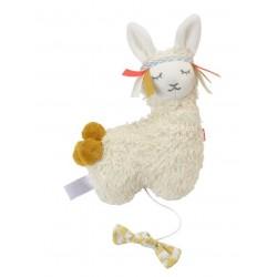 """Kikadu - Bio kleine Spieluhr Lama""""Brahms Wiegenlied"""", 20cm"""