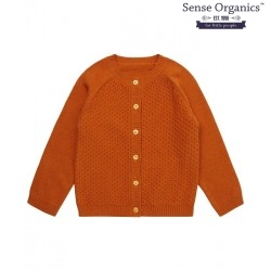 "Sense Organics - Bio Baby Strickjacke ""Leander"" mit Wabenmuster"
