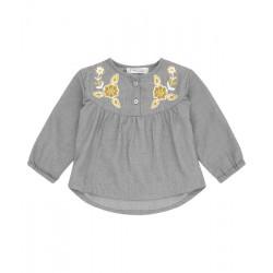 "Sense Organics - Bio Baby Tunika ""Cholena"" mit Stickerei"