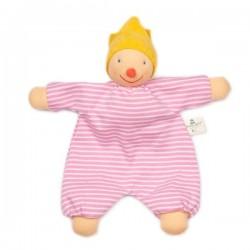 "Nanchen Natur - Bio Baby Schmusepuppe ""Prinzessin Frohsinn"" 27cm"