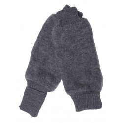Reiff - Bio Kinder Fleece Beinstulpen Wolle fels