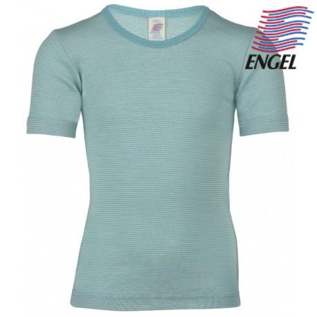 Engel Baby//Kinder Unterhemd Kurzarm Bio-Schurwolle