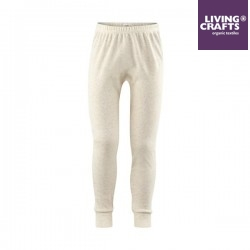 LIVING CRAFTS - Bio Kinder Unterhose lang, natural