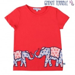 Enfant Terrible - Bio Kinder T-Shirt mit Elefanten-Motiv