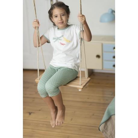 LIVING CRAFTS - Bio Kinder Schlafanzug kurz