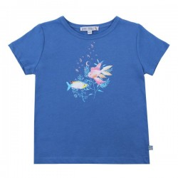 Enfant Terrible - Bio Kinder T-Shirt mit Fisch-Motiv