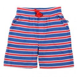 Enfant Terrible - Bio Kinder Jersey Shorts mit Streifen