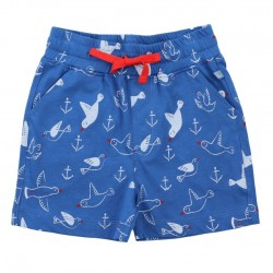 Enfant Terrible - Bio Kinder Jersey Shorts mit Möwen-Motiv