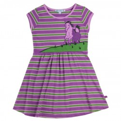 Enfant Terrible - Bio Kinder Jersey Kleid mit Pferde-Motiv