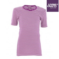 LIVING CRAFTS -Kinder Unterhemd kurzarm mit Streifen