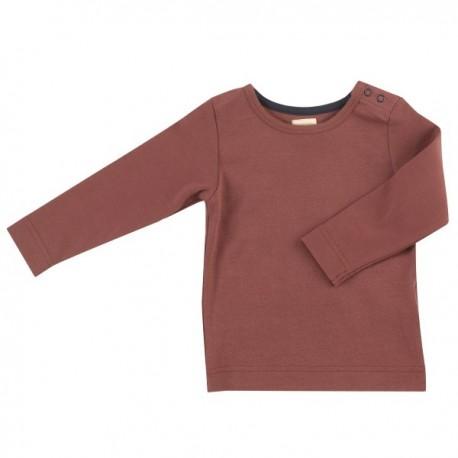 Pigeon - Bio Kinder Langarmshirt, rot