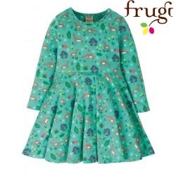 """frugi - Bio Kinder Jersey Kleid """"Sofia"""" mit Reh-Motiv"""