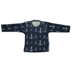 Holy Water - Baby Langarmshirt mit Anker-Motiv