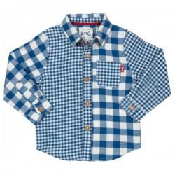 kite kids - Bio Kinder Flanell Hemd kariert