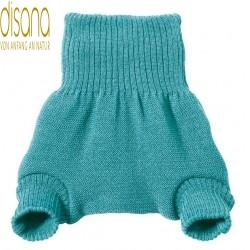 disana - Bio Baby Windelhose, Wolle, lagoon