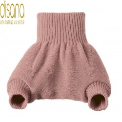 disana - Bio Baby Windelhose, Wolle, rose
