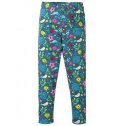 "frugi - Bio Kinder Leggings ""Libby"" mit Gartenfreunde-Motiv"