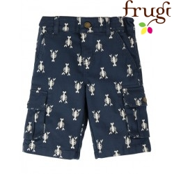frugi - Bio Kinder Shorts mit Hummer-Allover