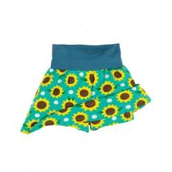 """frugi - Bio Kinder Jersey Hosenrock """"Luna"""" mit Sonnenblumen-Motiv"""