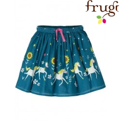 "frugi - Bio Kinder Rock ""Twirly Dream"" mit Einhorn-Druck"