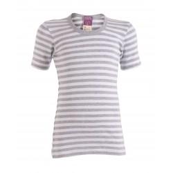LIVING CRAFTS - Bio Kinder Unterhemd kurzarm mit Streifen