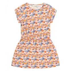 "Sense Organics - Bio Kinder Kleid ""Melda"" mit Muster"