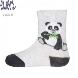 Ewers - Bio Baby Socken mit Panda-Motiv