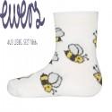 Ewers - Bio Baby Socken mit Bienen-Motiv