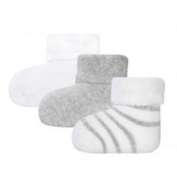 Ewers - Bio Baby Socken 3er-Pack aus Plüsch