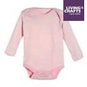 LIVING CRAFTS - Bio Baby Body langarm