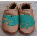 Diseno-C - Bio Baby Lederpuschen Krokodil