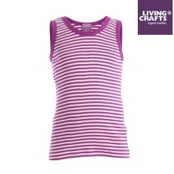 LIVING CRAFTS -Kinder Unterhemd mit Streifen