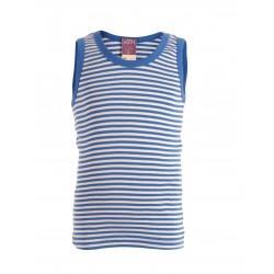 LIVING CRAFTS - Bio Kinder Unterhemd mit Streifen