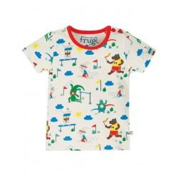 """frugi - Bio Baby T-Shirt """"Alby"""" mit Tier-Motiv"""